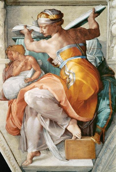 Libyan Sibylle (part of Sistine chapel) 1511