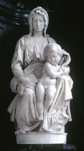 Madonna and Child, commissioned in 1505 by Jan van Moescroen given to the church in 1514 or 1517