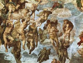 (these delivered the Last Judgement for part -- for a Sistine chapel) 1537-1541