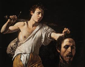 David with the Head of Goliath 1595