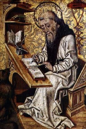 St. Jerome Translating the Bible