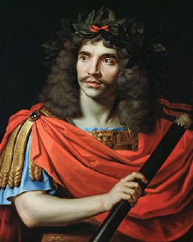 Moliere in the Role of Caesar in 'The Death of Pompey'