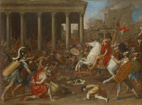 The Destruction of the Temple of Jerusalem by Emperor Titus