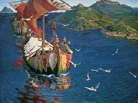 Varangians / overseas guests / by Roerich