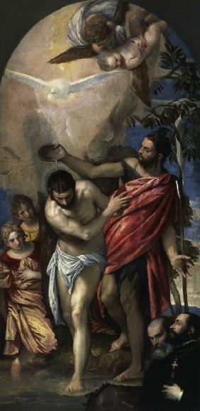 Baptism of Christ / Veronese / c.1561