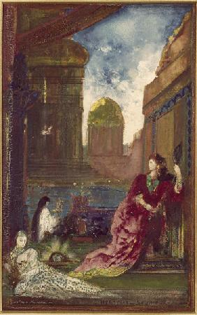 Gustave Moreau, Herodias and Salome / Pa