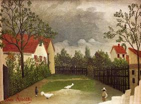 H.Rousseau, Chicken Run