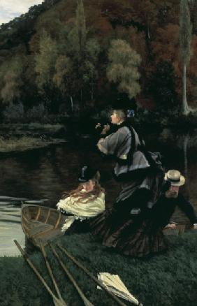 J.Tissot, Autumn on the Thames /painting