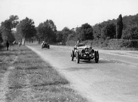 Lagonda Rapier Special, Le Mans 24 Hours. The entry of Lord Freddie de Clifford and Charles Brackenb