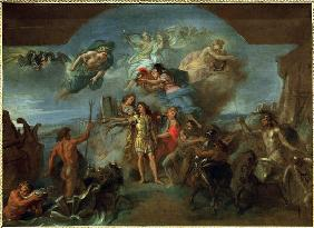 Louis XIV / Painting by Le Brun.