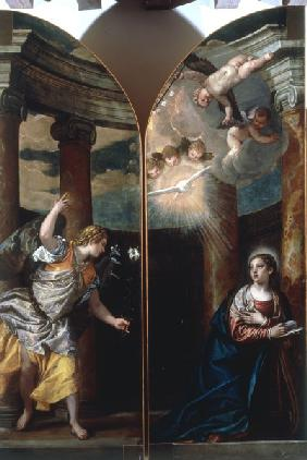 P.Veronese / Annunciation to Mary / Ptg.