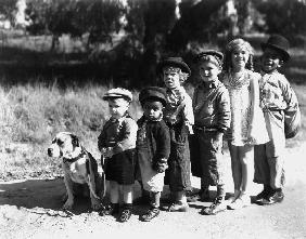 Serie televisee Les petites canailles The Little Rascals - Our gang avec Pejey , George Spanky Mac F