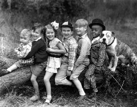 Series THE LITTLE RASCALS/OUR GANG COMEDIES with Spanky McFarland, Wheezer , Dorothy DeBorba, Breezy