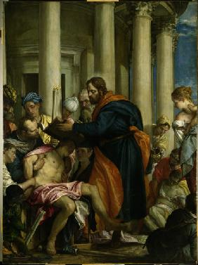St.Barnabas heals the Sick / Veronese