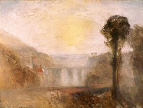 W.Turner / Bridge and Tower / 1838