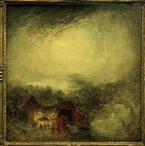 W.Turner / Evening of the Deluge / 1843
