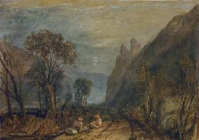 W.Turner / View on the Rhine