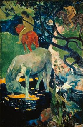 Gauguin / The white horse / 1893