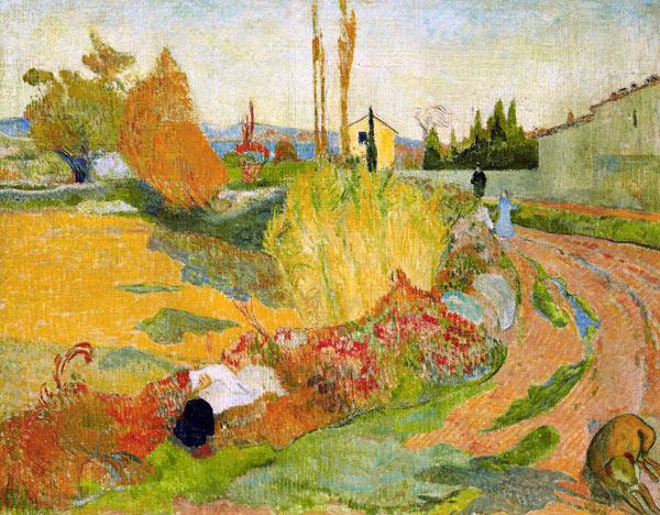 Countryside at Arles