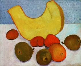 Still Life with Melon , undated painting