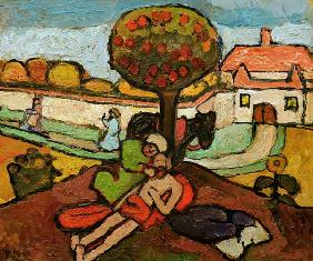 The Good Samaritan , Modersohn-Becker
