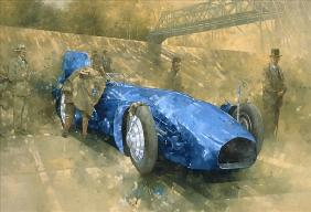 Bluebird at Brooklands