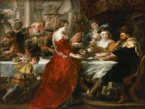 The banquet of the Herodes.
