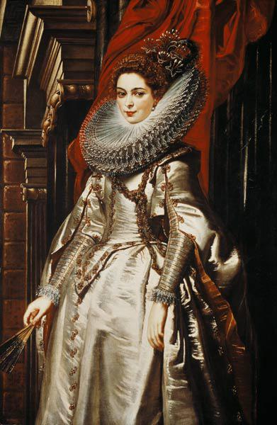 The Marquesa Brigida Spinola Doria.