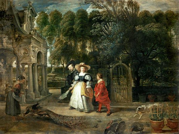 Rubens and Helene Fourment (1614-73) in the Garden