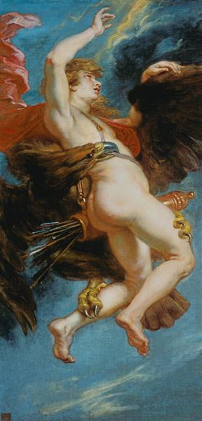 Rubens / The Rape of Ganymede