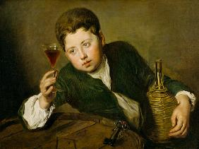 The young Wine Taster