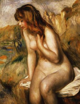 Bather on a Rock 1892