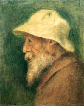 Self-portrait with a white hat 1910