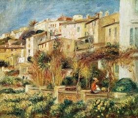 Terrace in Cagnes. 1905