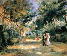 The Gardens in Montmartre