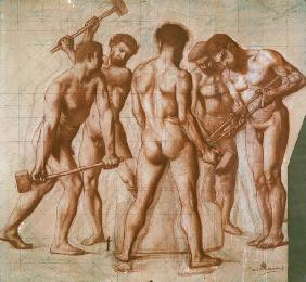 The Forgers, study for 'Allegorie du Travail'