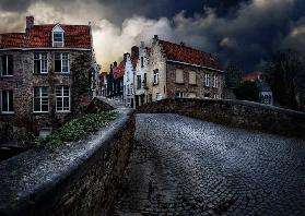 an evening in Bruges