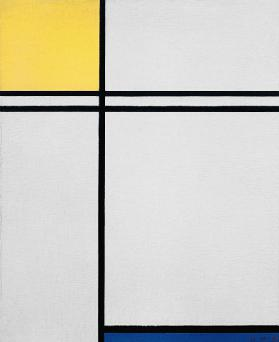 Composition yellow, blue../1933