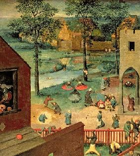 Children''s Games (Kinderspiele), 1560 (detail of 68945)
