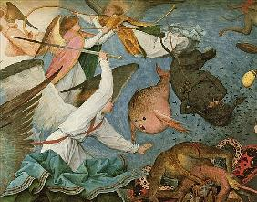 The Fall of the Rebel Angels, 1562 (detail of 74037)