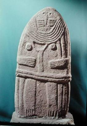 Menhir statue no.4, from Saint-Sernins-sur-Rance