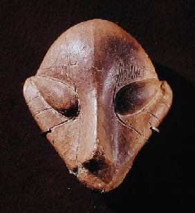 Stylised head, from Predionica, Late Vinca Culture