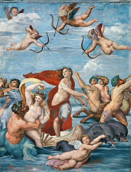 The triumph of the Galatea