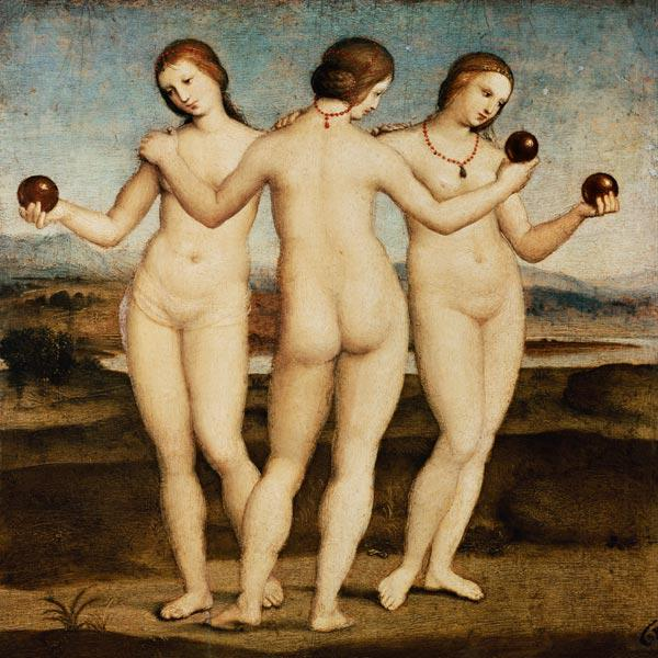 The three graces 1504