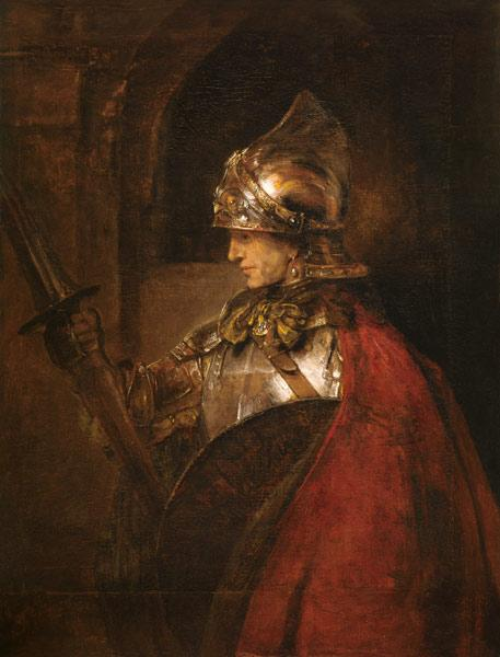 Alexander the Great / Paint. / Rembrandt