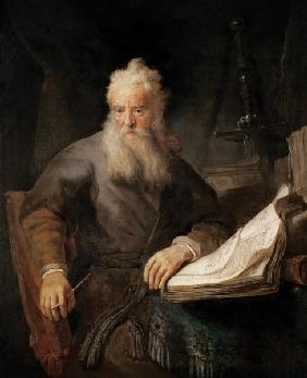 The Apostle Paul / Rembrandt / c.1630
