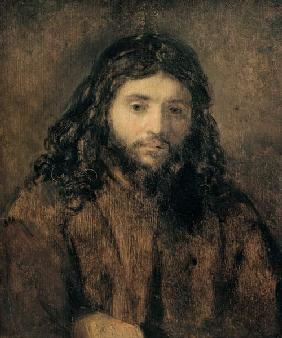 Rembrandt / Head of Christ