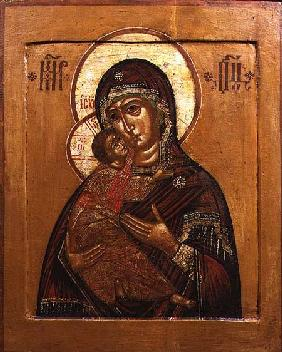 Mother of God of Vladimir, icon from north western Russia