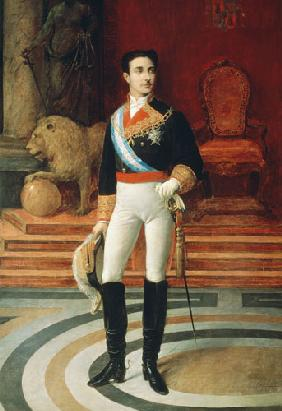 Portrait of Alfonso XII (1857-85)
