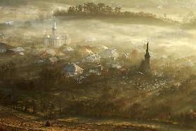 the village born from fog...